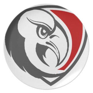 Weißkopfseeadler-Stolz Melaminteller