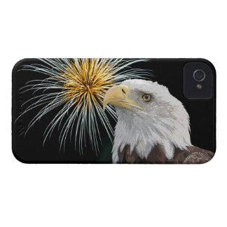Weißkopfseeadler und Feuerwerke iPhone 4 Cover