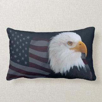 Weißkopfseeadler-USA-Flagge Lendenkissen