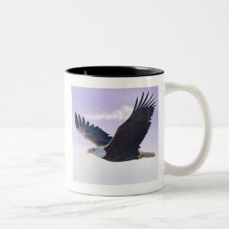Weißkopfseeadler Zweifarbige Tasse