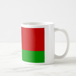 Weißrussland-Flagge Kaffeetasse