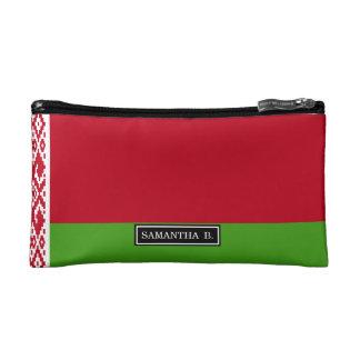 Weißrussland-Flagge Kosmetiktasche