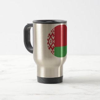 Weißrussland-Flagge Reisebecher