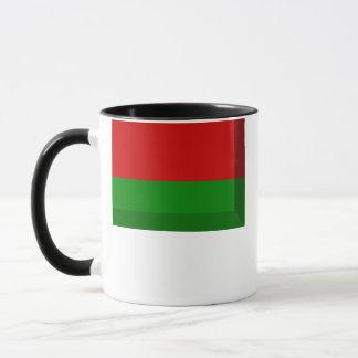 Weißrussland-Flaggen-Juwel Tasse