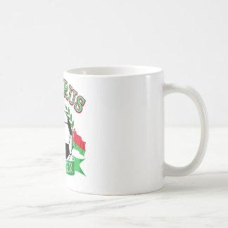 Weißrussland-Fußballentwürfe Kaffeetasse