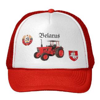 Weißrussland-Traktor-Hut Retromütze
