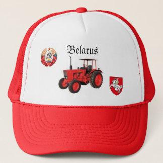 Weißrussland-Traktor-Hut Truckerkappe