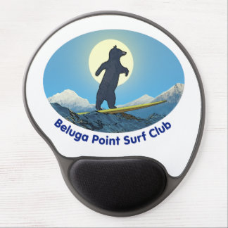 Weißwal-Punkt-Brandungs-Verein Gel Mousepad