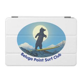 Weißwal-Punkt-Brandungs-Verein iPad Mini Cover