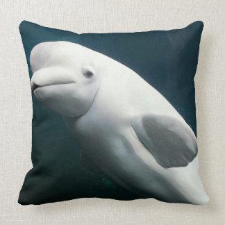 Weißwal-Wal Kissen