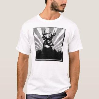 Weißwedelhirsch-Dollar-Jagd-T-Shirt T-Shirt