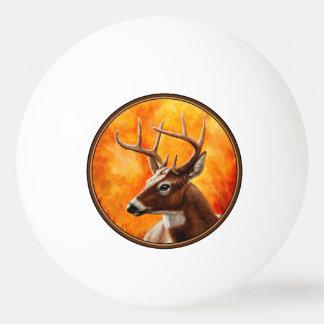 Weißwedelhirsch-Dollar-Jagd Tischtennis Ball