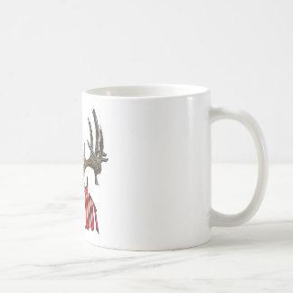 Weißwedelhirschschädel Kaffeetasse