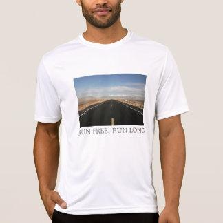 weiter Weg, LAUF GEBEN frei, LAUFEN LANG T-Shirt