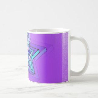 Weiterentwicklungs-Davidsstern Kaffeetasse