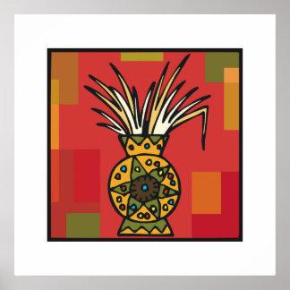 Weizen-Ernte für Kwanzaa Plakatdrucke