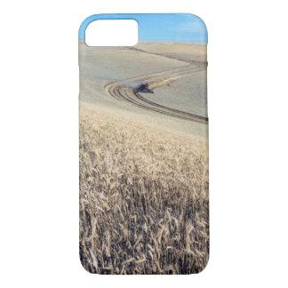 Weizen-Ernte-landwirtschaftlicher Mähdrescher iPhone 8/7 Hülle