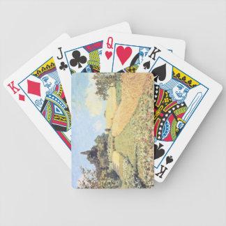 Weizen-Feld Alfred Sisleys   Bicycle Spielkarten