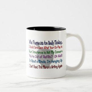 Welche Apotheker WIRKLICH DENKEN Tee Tassen