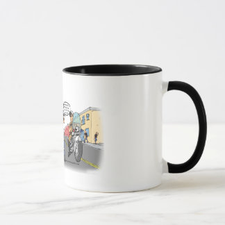 Welche ein bisschen Motorrad-Kundgebung ist diese? Tasse