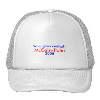 Welche Glasdecke?! , McCain-Palin Hut 2008 Truckerkappe
