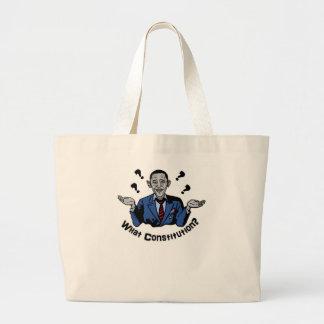 Welche Konstitution? Einkaufstaschen