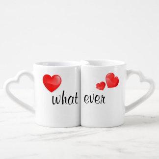 Welche überhaupt Liebhaber, die Tassen mit roten