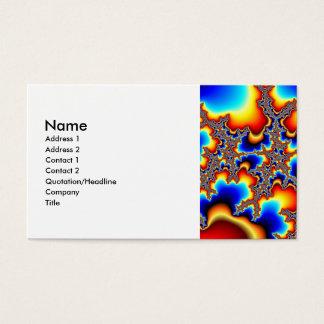 Welches folgende - Fraktal Visitenkarte
