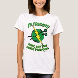 Welches ist dein Machtsuper?  Rasenausgabe T-Shirt