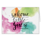 welcome girl karte