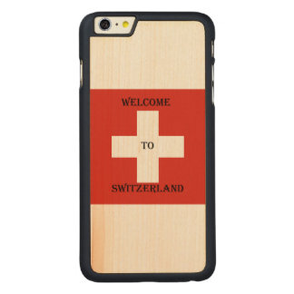 welcome heiratet du der Switzerland iphone Carved® Maple iPhone 6 Plus Hülle