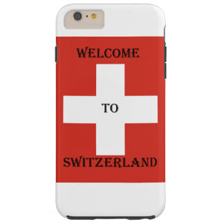 welcome heiratet du der Switzerland iphone Tough iPhone 6 Plus Hülle