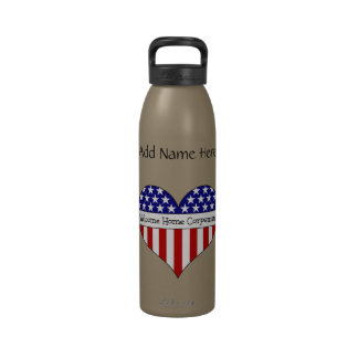 Welcome Home Corpsman! (Customizable Name) Water Bottles