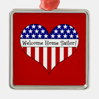 Welcome Home Sailor! Christmas Ornaments
