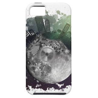 Wellcoda Fantasie-Planeten-Weltkugel-Stadt iPhone 5 Schutzhüllen