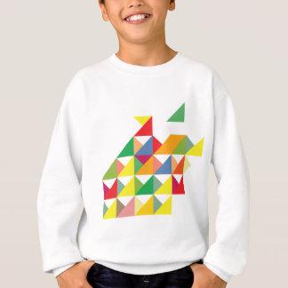 Wellcoda fantastische Dreieck-Druck-Hypnotik Sweatshirt