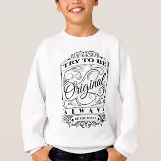 Wellcoda ist ursprüngliche sich Motivation Sweatshirt