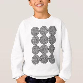 Wellcoda optische Hypnose-coole Verwirrung Sweatshirt
