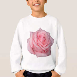 Wellcoda rosa Rosen-romantischer Blumen-Power Sweatshirt