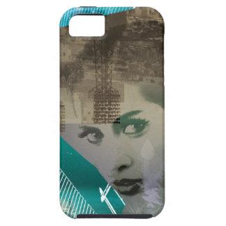 Wellcoda städtisches Mädchen-Porträt-surreale iPhone 5 Case