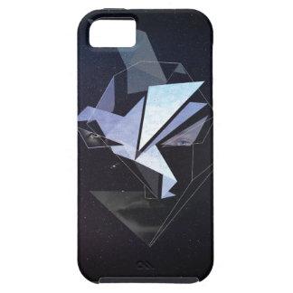 Wellcoda stellen Fantasie Origami Hauptvogel Tough iPhone 5 Hülle