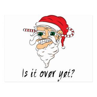 Wellcoda Weihnachten über dennoch schlechte Sankt Postkarte
