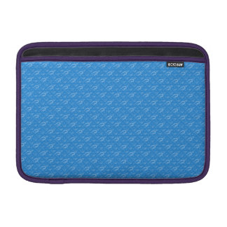 Welle gemustert sleeve fürs MacBook air