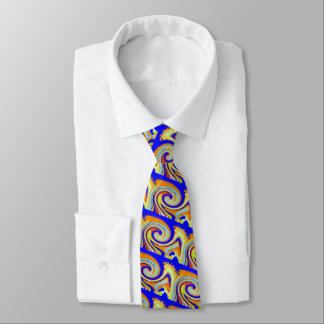 Wellen des Erfolgs Individuelle Krawatten