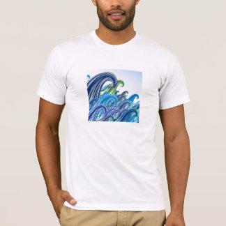 Wellen des Meers T-Shirt