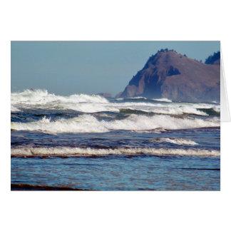 Wellen des Pazifiks Karte