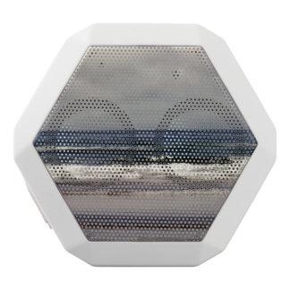 Wellen im Pazifischen Ozean Weiße Bluetooth Lautsprecher