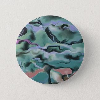 Wellen in der Harmonie Runder Button 5,1 Cm
