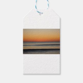 Wellen in Ihnen Horizont Geschenkanhänger