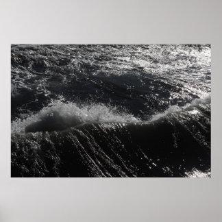 Wellen Plakatdruck